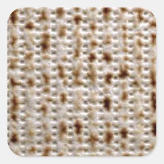 マツァのユダヤ人の正方形のステッカー スクエアシール