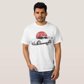 マツダRX7 - CarCorner Tシャツ