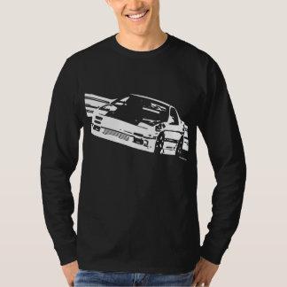 マツダRX-7 FC3Sの横の長袖 Tシャツ
