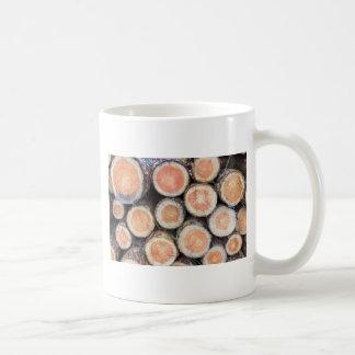 -マツトランクの断面 コーヒーマグカップ