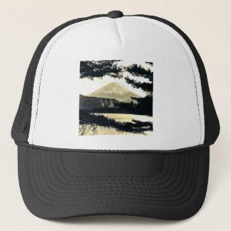 マツヴィンテージの富士山の日本人を通した富士山 キャップ