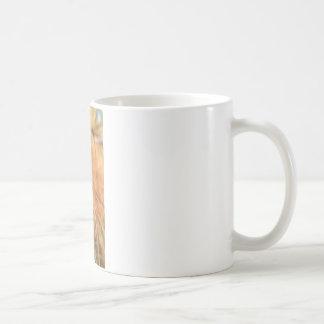 マツ円錐形および金針 コーヒーマグカップ