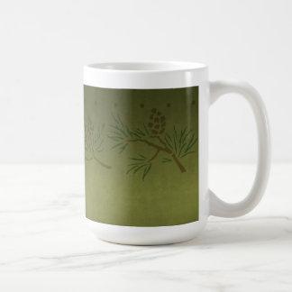 マツ円錐形のマグ コーヒーマグカップ