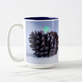 マツ円錐形のマグ ツートーンマグカップ