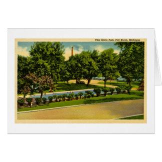 マツ果樹園公園、港ヒューロン、ミシガン州 カード