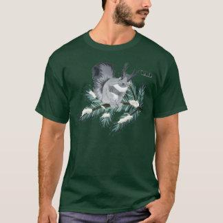 マツ枝のTCWC |の冬のリス Tシャツ