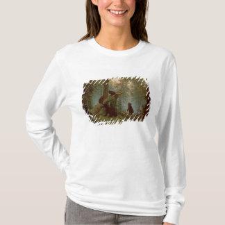 マツ森林の朝、1889年 Tシャツ