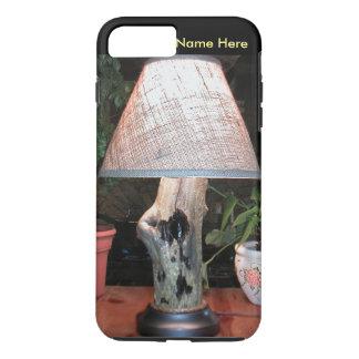 マツ石の照明によるカスタムなランプ iPhone 8 PLUS/7 PLUSケース