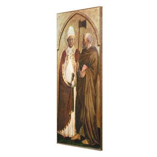 マティアス、c.1428-29法皇およびSt. キャンバスプリント