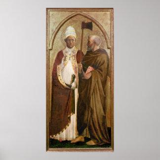 マティアス、c.1428-29法皇およびSt. ポスター