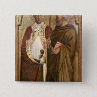 マティアス、c.1428-29法皇およびSt. 缶バッジ