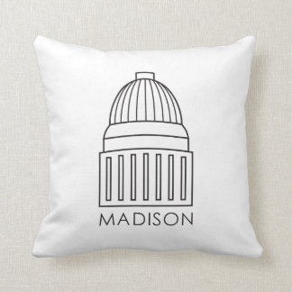 マディソンウィスコンシンの国会議事堂の建物 クッション