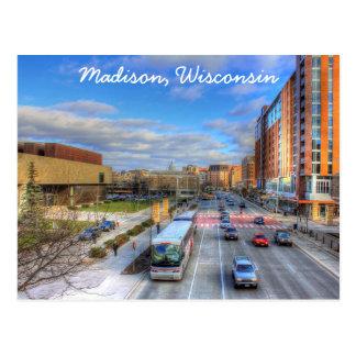 マディソンウィスコンシンの郵便はがき ポストカード