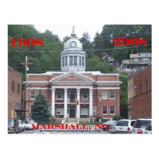 マディソン郡の裁判所 ポストカード