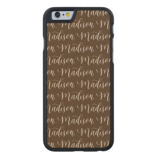 マディソン-モダンな書道の名前のデザイン ケース