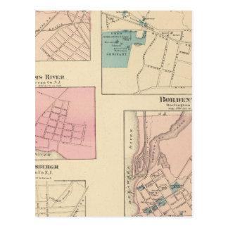 マディソン、Bordentown、NJ ポストカード