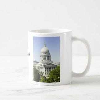 マディソンWIを造る国会議事堂 コーヒーマグカップ