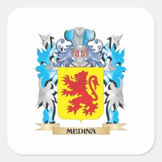 マディーナの紋章付き外衣-家紋 スクエアシール