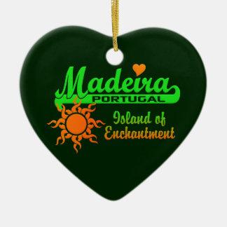 マデイラのオーナメント-カスタマイズ セラミックオーナメント
