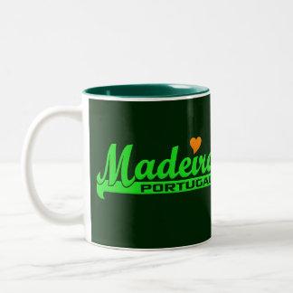 マデイラのマグ-スタイル及び色を選んで下さい ツートーンマグカップ
