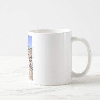 マデイラの山の上で導くハイキングコース コーヒーマグカップ