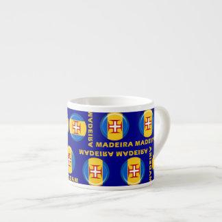 マデイラの島の旗 エスプレッソカップ