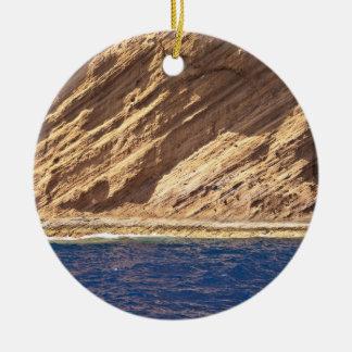 マデイラの島の眺め セラミックオーナメント