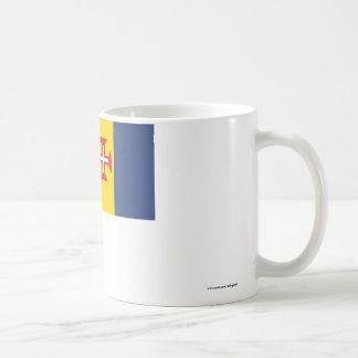 マデイラの旗 コーヒーマグカップ