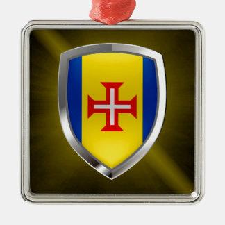 マデイラの金属紋章 メタルオーナメント