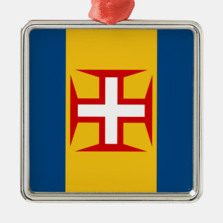 マデイラ(ポルトガル)の旗 メタルオーナメント