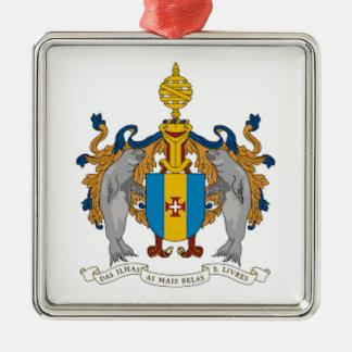 マデイラ(ポルトガル)の紋章付き外衣 メタルオーナメント