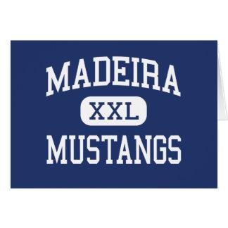 マデイラ-ムスタング-高等学校-シンシナチオハイオ州 カード