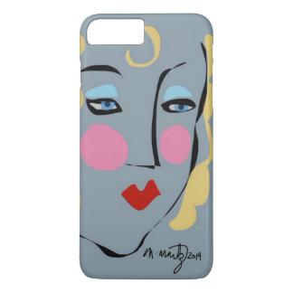 マデリーンはMatisseのiPhoneの場合のために気違いでした iPhone 8 Plus/7 Plusケース