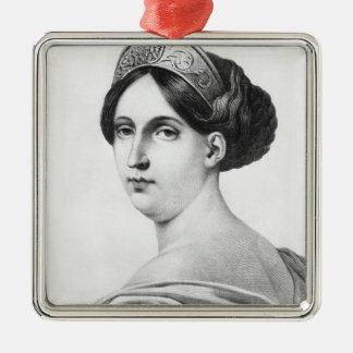 マドモアゼルジョージ1825年 メタルオーナメント
