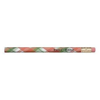 マドラスの格子縞のクリスマス 鉛筆