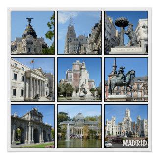 マドリードのコレクションのイメージ ポスター