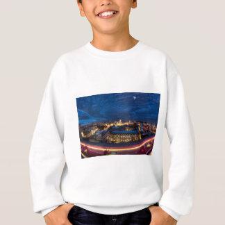 マドリードのスカイライン スウェットシャツ
