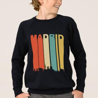 マドリードのレトロのスカイライン スウェットシャツ