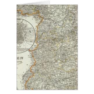 マドリードの山そして川 カード