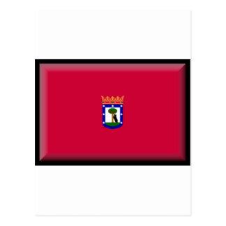 マドリードの旗 ポストカード