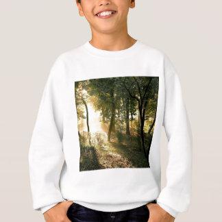 マドリードの木の夜明け スウェットシャツ