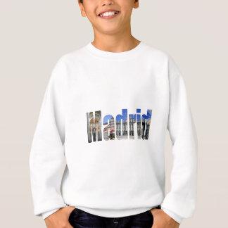 マドリードの観光の名所 スウェットシャツ