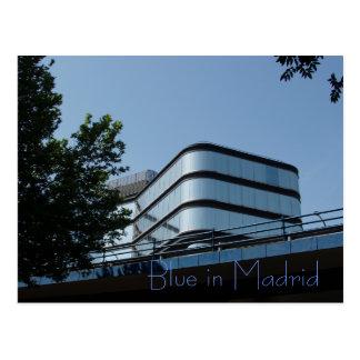 マドリードの青 ポストカード