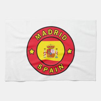 マドリードスペイン キッチンタオル
