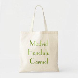 マドリードホノルルCarmelのトート トートバッグ