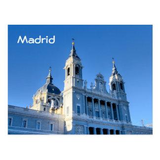 マドリード、スペインの郵便はがき ポストカード