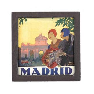 マドリードTemporada de Primavera -ヴィンテージの芸術ポスター ギフトボックス