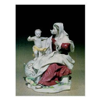 マドンナおよび子供のチェルシーの姿 ポストカード