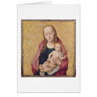 マドンナおよび子供2 カード