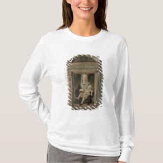 マドンナおよび子供(パネルの油) Tシャツ